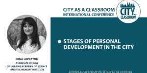 Stages of personal development in the city